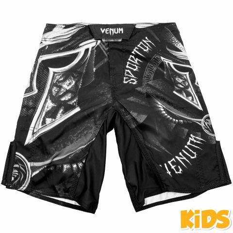 Venum Gladiator Fightshorts Kinderen - zwart/wit