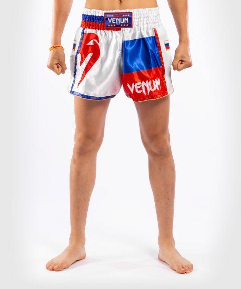 Pantalones cortos Venum MT Flags Muay Thai - Rusia
