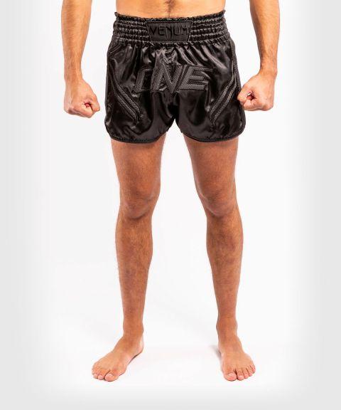 Pantaloncini da Muay Thai ONE FC Impact - Nero/Nero