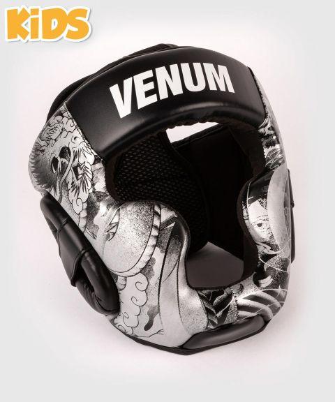 Casco da boxe Venum YKZ21 - Per Bambini - Nero/Bianco