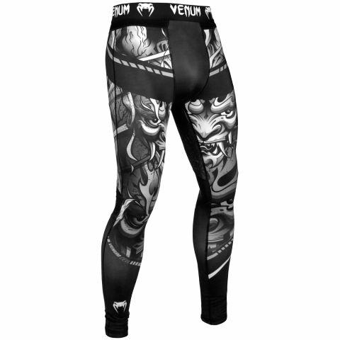 Pantaloni a compressione Venum Devil - Bianchi/Neri