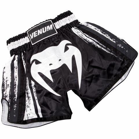 Pantaloncini da Muay Thai Venum Bangkok Spirit - Neri