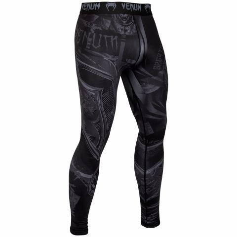 Pantaloni a compressione Venum Gladiator 3.0 - Nero/Nero