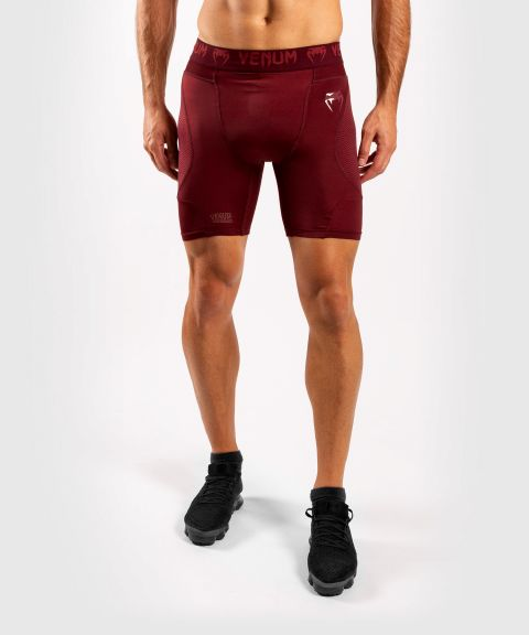 Venum G-Fit Kompressions-Shorts - Bordeaux