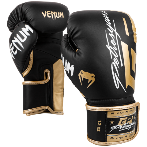 Venum Petrosyan Bokshandschoenen - zwart/goud