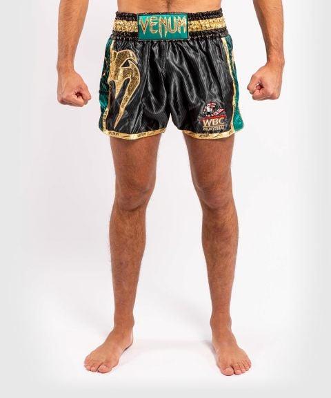 Muay Thai Venum WBC Shorts - Zwart/Groen