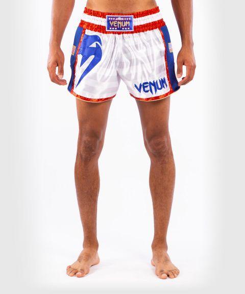 Pantalones cortos Venum MT Flags Muay Thai - Estados Unidos
