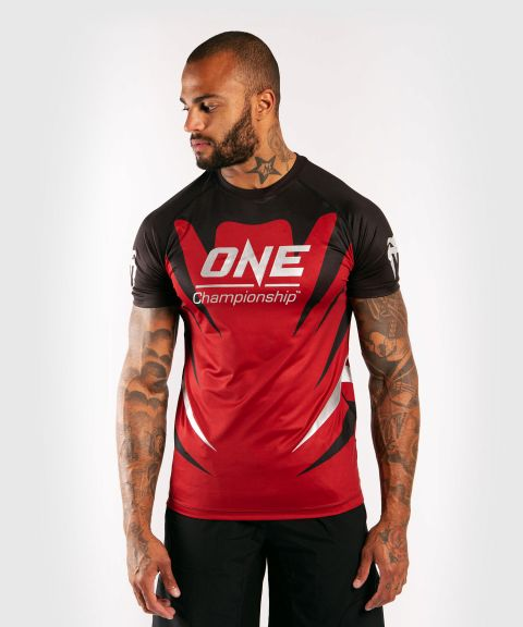 Venum x ONE FC Dry Tech T-shirt - Red
