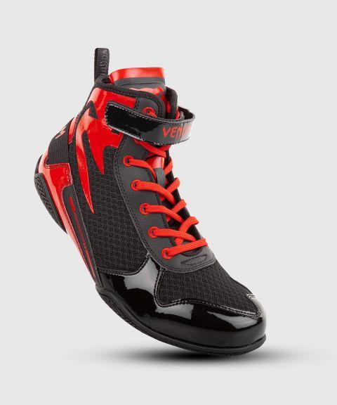 Zapatillas de boxeo Venum Giant Low - Negro/Rojo