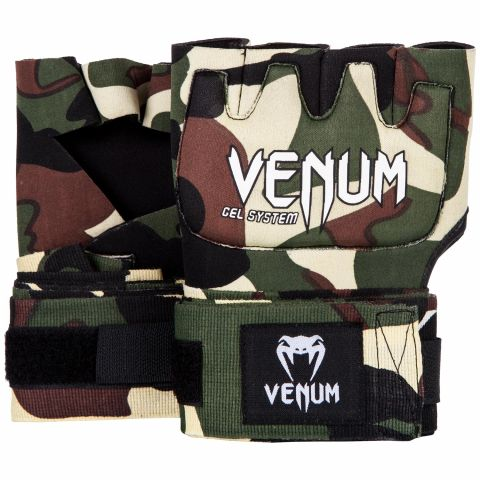 Venum Kontact Gel Glove Wraps - Forest camo