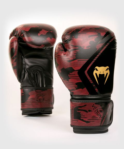 Venum Defender Contender 2.0 Boxing Gloves - Black/Red