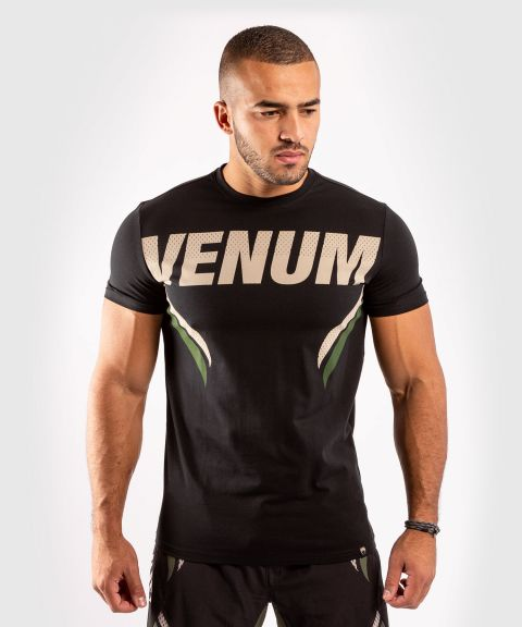 Venum ONE FC Impact T-shirt - Black/Khaki
