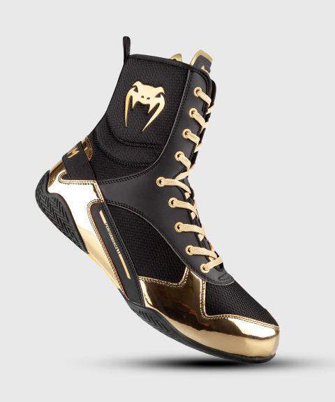 Elite Boxschuhe - Schwarz/Gold