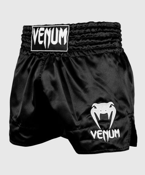 Pantaloncini Muay Thai Classic Venum - Nero/Bianco