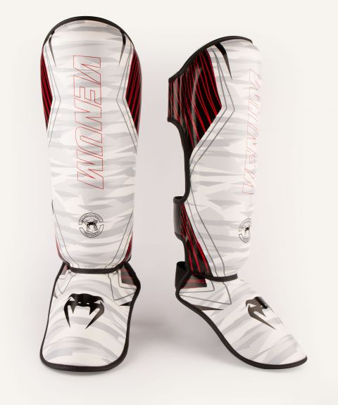 Venum Contender 2.0 Shin Guards - White/Camo