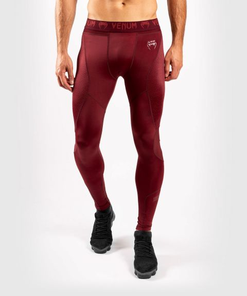 Venum G-Fit Spats - Bordeauxrood