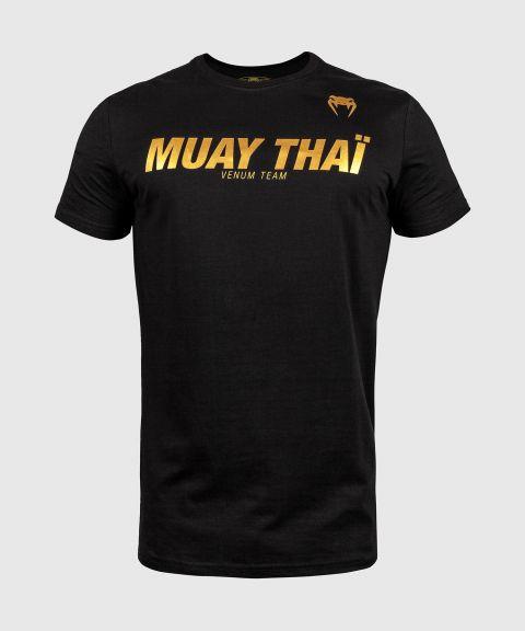 Venum Muay Thai VT T-shirt - Zwart/Goud