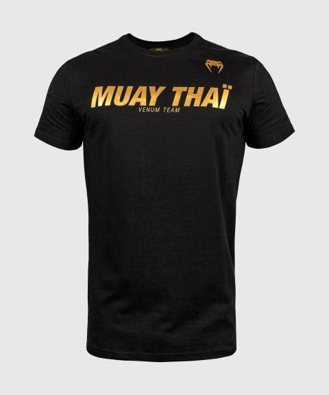 Venum Muay Thai VT T-Shirt - Schwarz/Gold