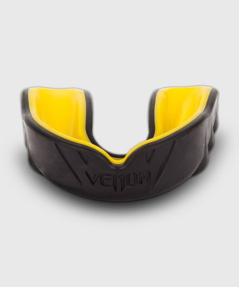 Venum Challenger Mouthguard - Black/Yellow
