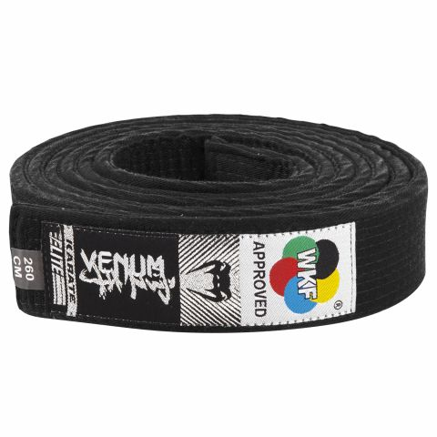 Venum Karate Belt - Black