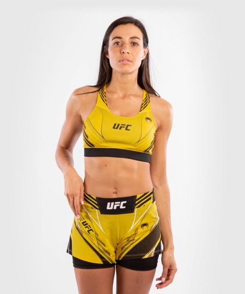 UFC Venum Authentic Fight Night Damen Sport-BH - Gelb