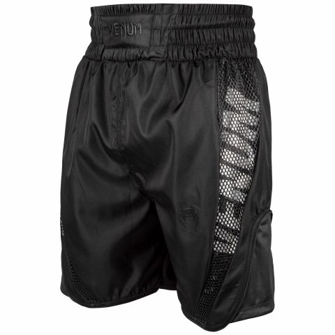 Venum Elite Boxing Shorts - Black/Black