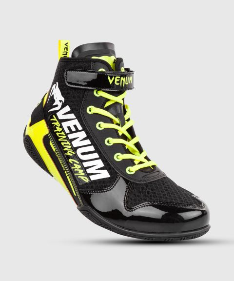 Venum Giant Low VTC 2 Edition Boxing Shoes - Black/Neo Yellow