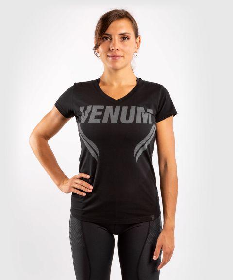 Camiseta ONE FC Impact - Mujer - Negro/Negro