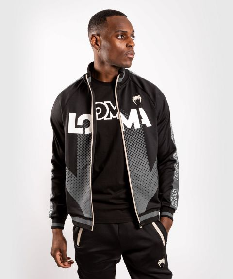 Chaqueta con cremallera Venum Arrow Loma Signature Collection - Negro / Blanco