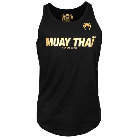 Canotta Muay Thai VT Venum - Nero/Oro