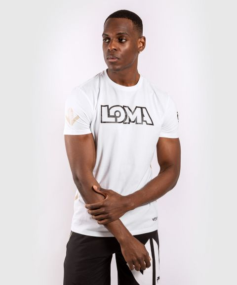 Venum Origins T-shirt Loma Edition - White/Black