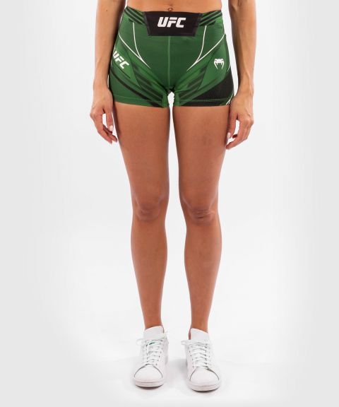 UFC Venum Authentic Fight Night Women's Vale Tudo Shorts - Short Fit - Green
