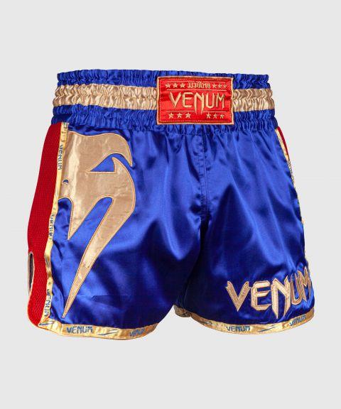 Pantalones Cortos de Muay Thai Venum Giant - Navy/Gold