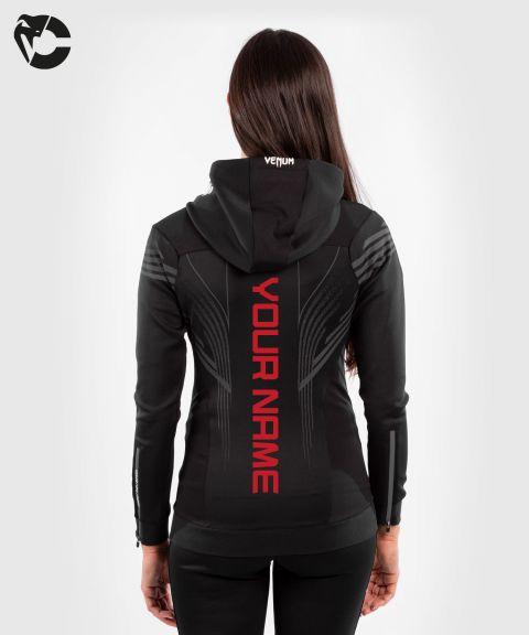 UFC Venum Personalized Authentic Fight Night Women's Walkout Hoodie - Black