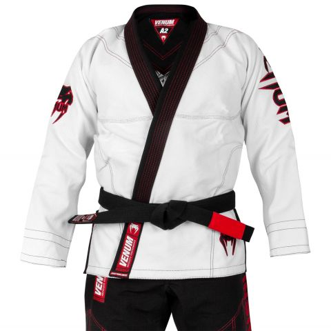 Venum Devil BJJ Gi - White/Black - Exclusive