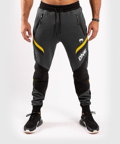 Venum ONE FC Impact Joggers - Grey/Yellow