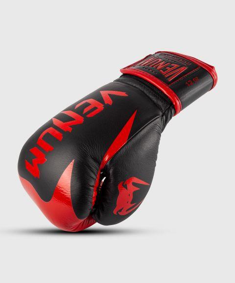 Guantoni da boxe professionali Venum Hammer – Velcro - Nero/Rosso