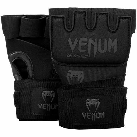 Venum Kontakt Gel Handschuh Wraps - Schwarz/Schwarz
