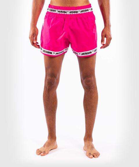 Pantalones cortos Venum Muay Thai Parachute - Rosa neón