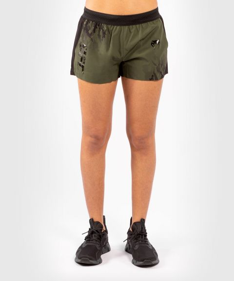 UFC Venum Authentic Fight Week Women's Performance Shorts - Khaki