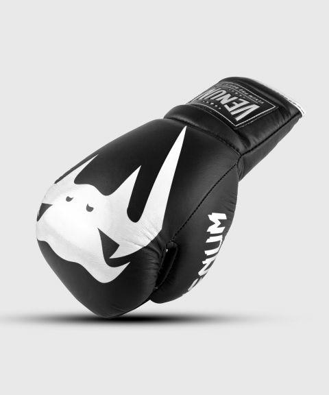 Guantoni da boxe professionali Venum Giant 2.0 – Lacci - Nero/Bianco