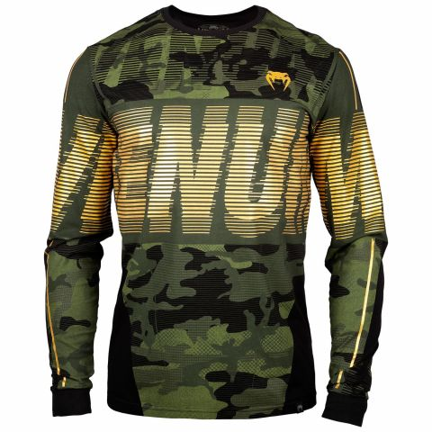 Venum Tactical T-shirt - Long Sleeves - Forest camo/Black