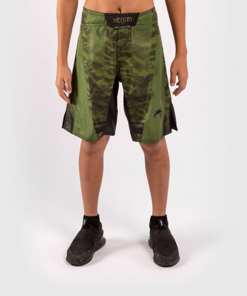 Fightshorts Enfant Venum Trooper - Forest Camo/Noir