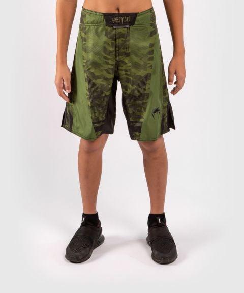 Fightshort Venum Trooper voor kinderen - Boscamouflage/Zwart