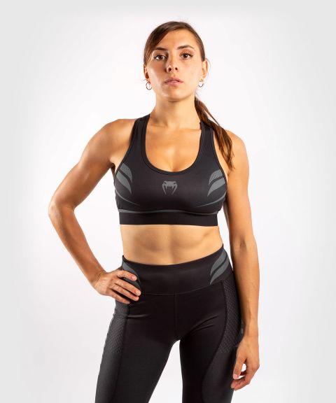 Sujetador deportivo ONE FC Impact - Mujer - Negro/Negro