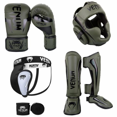 Kick Boxing Pack Khaki Black 1