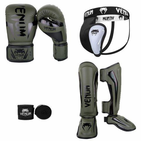 Kick Boxing Pack Khaki Black 2