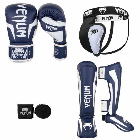 Kick Boxing Pack Navy White 2
