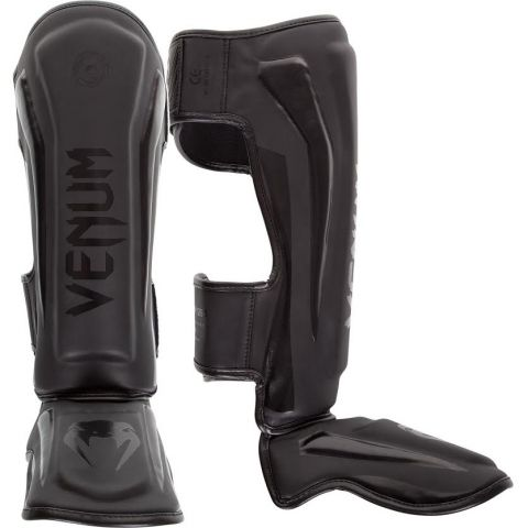 Venum Elite Standup Shin Guards - Matte/Black