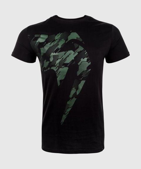 Camiseta Venum Tecmo Giant - Negro/Caqui